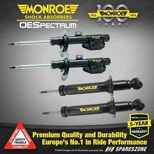 Monroe F + R OE Spectrum Shock Absorbers for Subaru Impreza Gen III GE GH 4WD