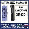 Batteria 18650 ricaricabile 9900 mAh 3,7 Volt Per laser 303 sigaretta elettronic