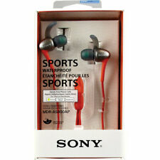 SONY Active Sports Smartphone Headset, Red