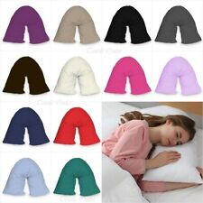 New V Shaped Orthopedic *PILLOW* with Following Color Free Polycotton Pillowcase