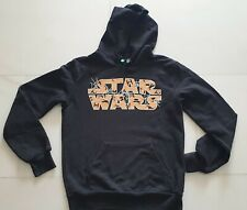 OFFICIALY LICENSED BY U.C. OF BENETTON  STAR WARS YOUTH  HOODIE GLOW IN THE DARK