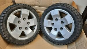 PRIDE COLT Pursuit Xl8 Pair of wheels and tyres.