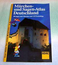 ADAC Märchen- u. Sagen-Atlas Deutschland: 80 Sagen & Märchen u. 115 Freizeittips