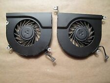 "Macbook Pro A1297 17"" Both Cooling Fans Right Left Genuine 2009-2011 OEM Working"