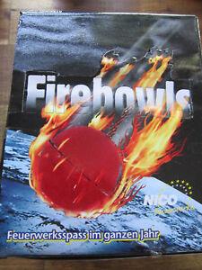 Firebowls/ 36 Packungen a 4 Stk/144 Stk/ Jugend-Kinderfeuerwerk