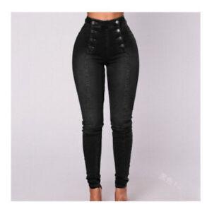 Pantalón Para Mujer Jean de Mezclilla Moda Pantalones Fino Elegantes Colombianos