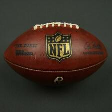 2016 Game Used Washington Redskins Wilson Duke Football!  From 2016 NFL Season