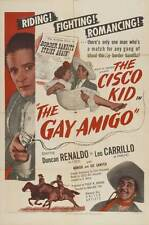THE GAY AMIGO Movie POSTER 27x40