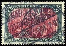 D.Reich Nr. 66 IV gestempelt, 5 Mark Reichspost nur mit weiß nachgemalt (53890)