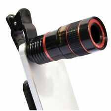 Universal Mobile Phone Camera Zoom Lens Kit Clip on Optical Telescope Telephoto