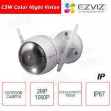 C3W Ezviz Telecamera IP da esterno WIFI 2.8mm 2MP Color Night Vision Luce Strobo