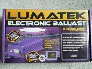 LUMATEK XTEDW400 DIMMABLE ELECTRONIC BALLAST 400W 120/240V for GROW LIGHT