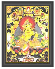 Feng Shui  Yellow Dzambhala Jambhala Powerful Mantra,  ncrease The Wealth Plaque