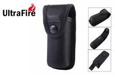 New Ultrafire Hard Nylon Flashlight Torch Holster Pouch ( Large )