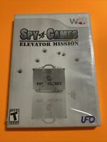 🔥 Nintendo Wii 💯Complete WORKING GAME - Spy Games ELEVATOR MISSIONS🔥SUPER-FUN