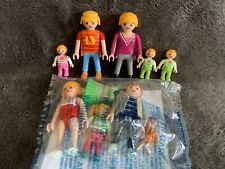 Playmobil Familie Overbeck und Familie Hauser