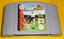 INTERNATIONAL SUPERSTAR SOCCER 64 Nintendo 64 Versione PAL ○○ SOLO CARTUCCIA