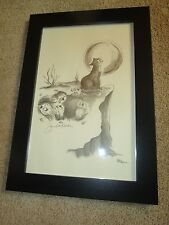 THE RAINBOW BRIDGE LITHOGRAPH