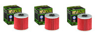 3 NEW HIFLOFILTRO OIL FILTERS FOR 2003 2004 2005-2009 KAWASAKI KLF 250 BAYOU ATV