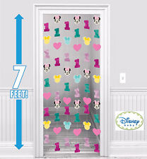 Minnie Mouse 1st Birthday Party Supplies STRING DECORATIONS 7 Ft Long