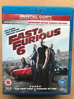 Fast And Furious 6 Blu-ray 2013 Action Movie Sequel UK Rental Release