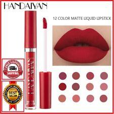 12 Color HANDAIYAN Lipstick Lipgloss Set Natural Moisturizer Waterproof Cosmetic