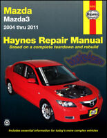 MAZDA3 SHOP MANUAL SERVICE REPAIR BOOK HAYNES WORKSHOP GUIDE CHILTON HOW TO DIY