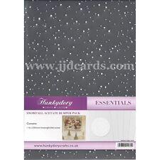 Hunkydory - Snowfall Acetate - 16 Sheet Bumper Pack
