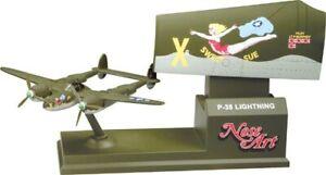 "Corgi Nose Art P-38 Lightning ""Sweet Sue"" Airplane  NEW CS90365 Retired"