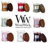 WoodWick Scented Candle Medium Jars - Regular & Christmas Fragrances