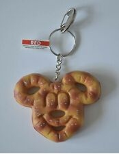 Mickey Mouse Pretzel Food Keychain Disney World Theme Parks New Nwt Disney Dlish