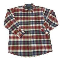 Roper Mens Size 2XLT Tall Multicolor Long Sleeve Western Cowboy Shirt