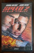 FILM VHS SPEED 2 SENZA LIMITI CON SANDRA BULLOCK E JASON PATRIC