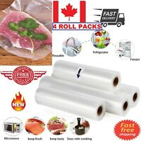 Vacuum Food Sealer Roll Storage Bags Food Saver Fresh Commercial Bags 28CMx5M CA