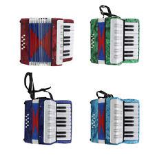17 Noten Kinder Akkordeon Ziehharmonika Musikinstrument für die Leistung
