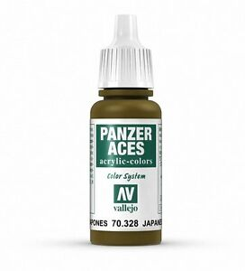 Vallejo PANZER ACES 70.328 - JAPANESE TANK CREW