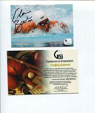 Elaine Breeden US Olympic Sliver Medal Winner Signed Autograph Photo COA