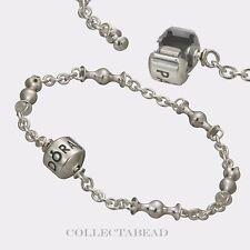 """Authentic Pandora Sterling Silver Capture Five Clip Station Bracelet 9.1"""" 591704"""