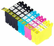 10 pks Non-OEM ink T126 for Epson workforce 435/545/630/633/635/645/845/NX330