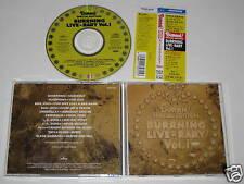 BURRN!/BURRNING LIVE-RARY VOL.1 (PHCR-1026)JAPAN CD+OBI
