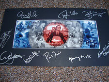 QUADROPHENIA multi signed ltd ed print 9 cast members - ASH, DANIELS, WIGNETT,