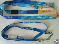 OLYMPIC GAMES Athens 2004 OFFICIAL Lanyards (set of 2)