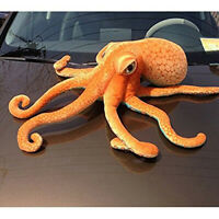 Simulation Large Octopus Squid Stuffed Animal Soft Plush Toy Doll Pillow Décor