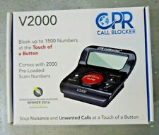 Cpr Call Blocker V2000, Pre-Programmed with 2000 Scam Numbers