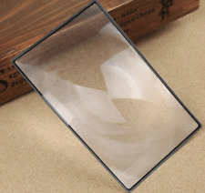 A5 Fresnel Lens Magnifier - Magnifying Reading Glass -Enlarge Small Text / Image