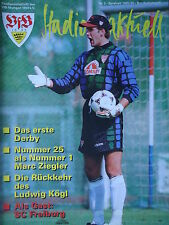 Programm 1995/96 VfB Stuttgart - SC Freiburg