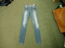 """Only Skinny Gr. XS Taille 24"""" Bein 31"""" Faded Medium Blue Damen Jeans"""