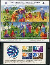 Guyana & Beleze Souvenir Sheets Mint, Nh
