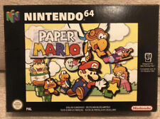 Brand New Never Opened Paper Mario Nintendo 64 N64 Rare Collectors Piece