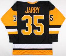 Tristan Jarry Signed Penguins Jersey (Beckett COA) Pittsburgh s  2  Goaltender 3f4c55a00